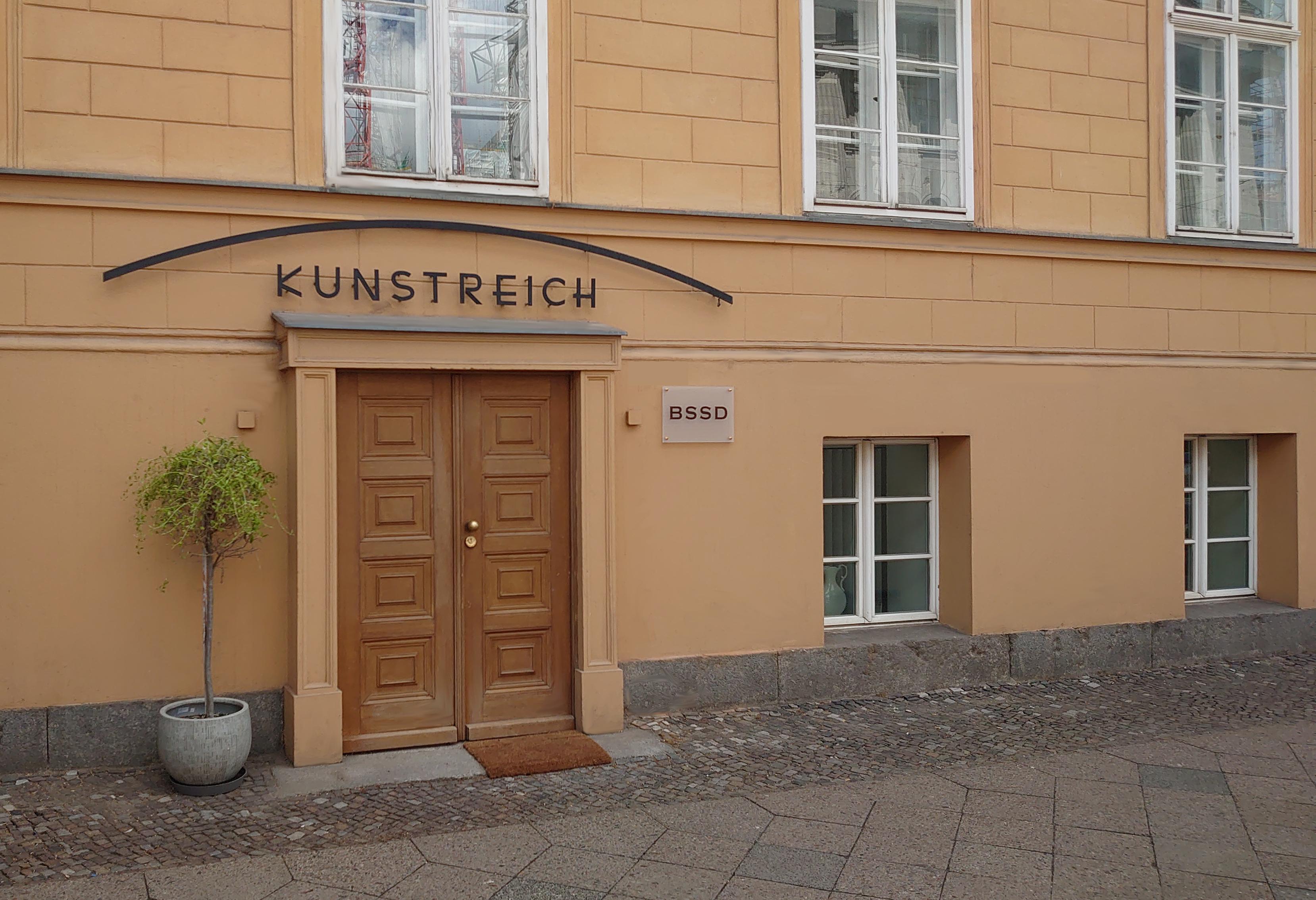"""Unser Büro ,,Am Kupfergraben 6""""."""